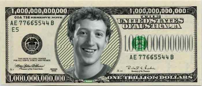 Facebook valuation image